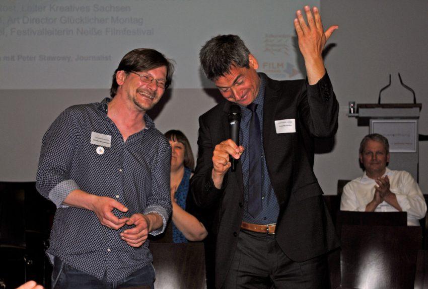 Dank zum Abschied an Christian Zimmermann, langjähriger Leiter der Geschäftsstelle beim Filmverband
