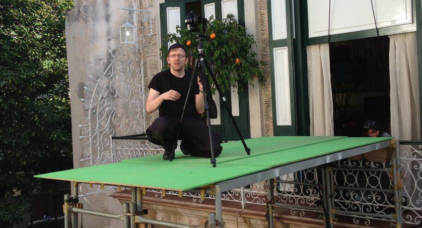 Falk Büttner als On-Set-Supervisor auf Kuba