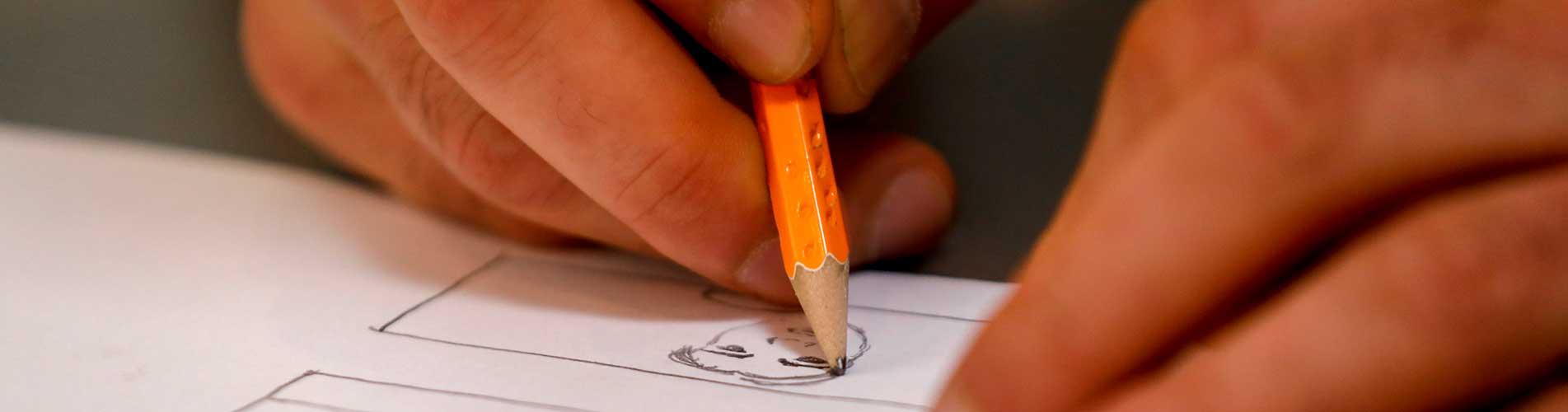 Bild zum Motto: Storyboard zeichnen im Rahmen von MY STORY 2018
