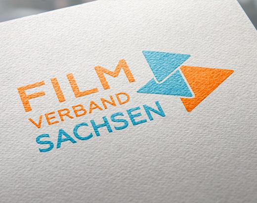 Logo-Versionen des Filmverband Sachsen