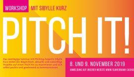 Pitching-Workshop mit Sibylle Kurz in Dresden