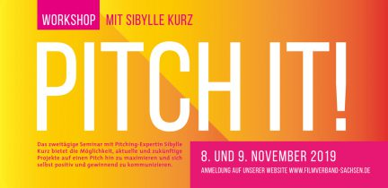 Pitching-Workshop mit Sibylle Kurz in Dresden