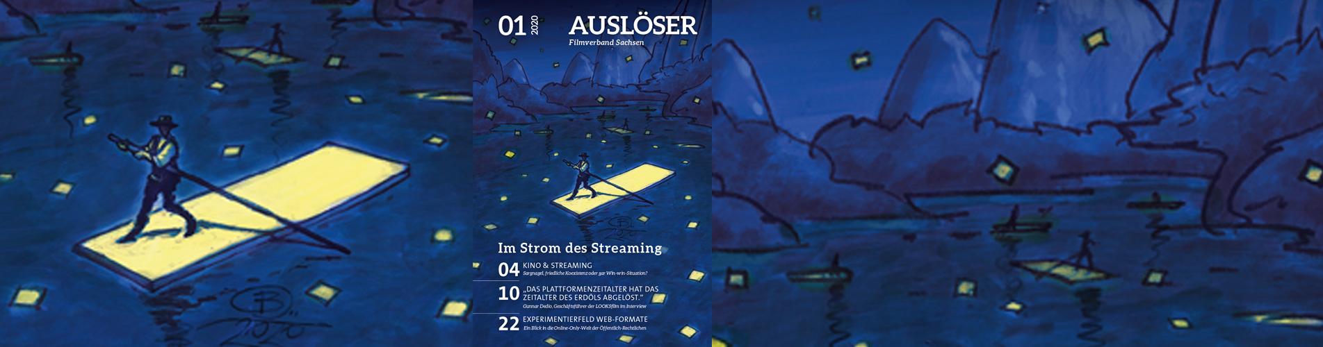 Bild zum Motto: Jetzt online: AUSLÖSER 01/2020
