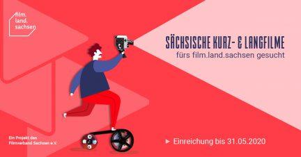 Sächsische Kurz- und Langfilme für das film.land.sachsen-Programm gesucht