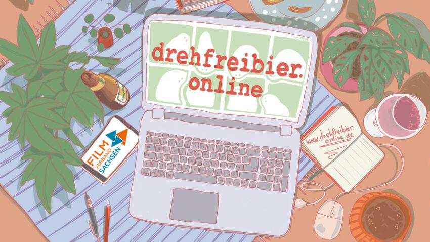 drefreibier online – der Online Stammtisch für Filmschaffende aus Sachsen und Mitteldeutschland