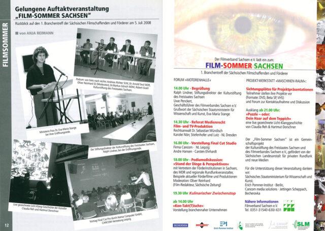 1. Filmsommer Sachsen 2008