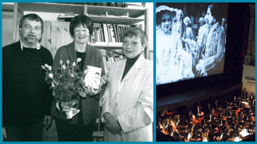Abschied von Sieglinde Hamacher aus der Vorstandstätigkeit des Filmverbands 2006