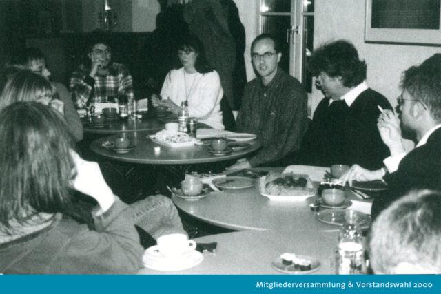 Vorstandwahl der Filmverbands im Dezember 2000