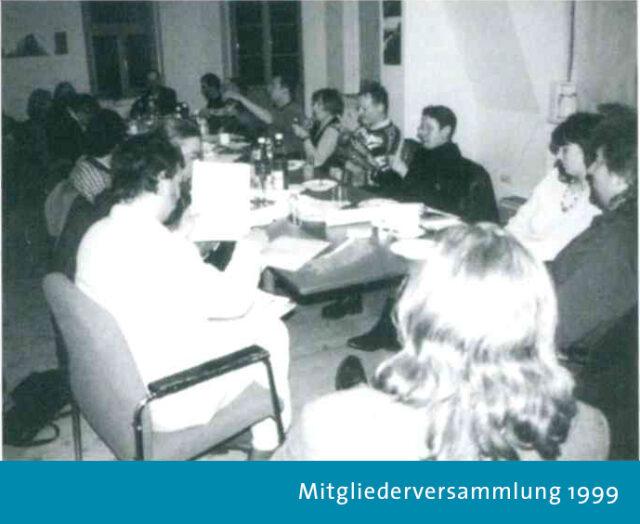 Mitgliederversammlung des Filmverbands 1999