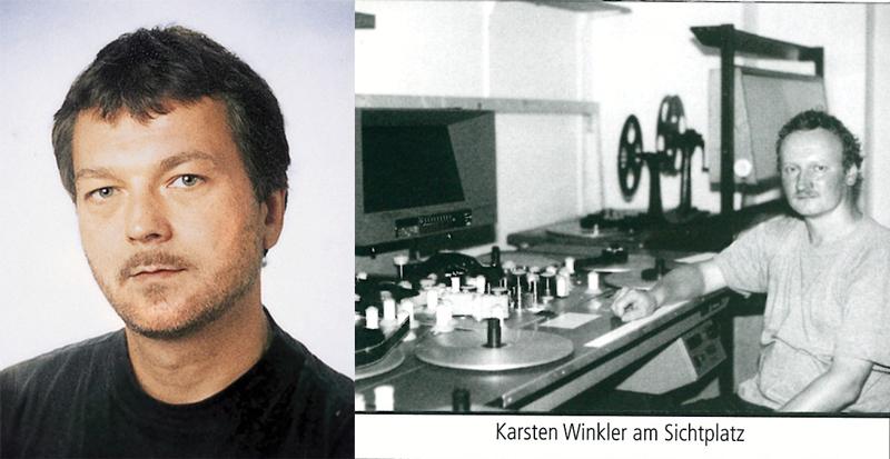 Uwe Pencker und Karsten Winkler. Ab 1996 Mitarbeiter des Filmverband Sachsen