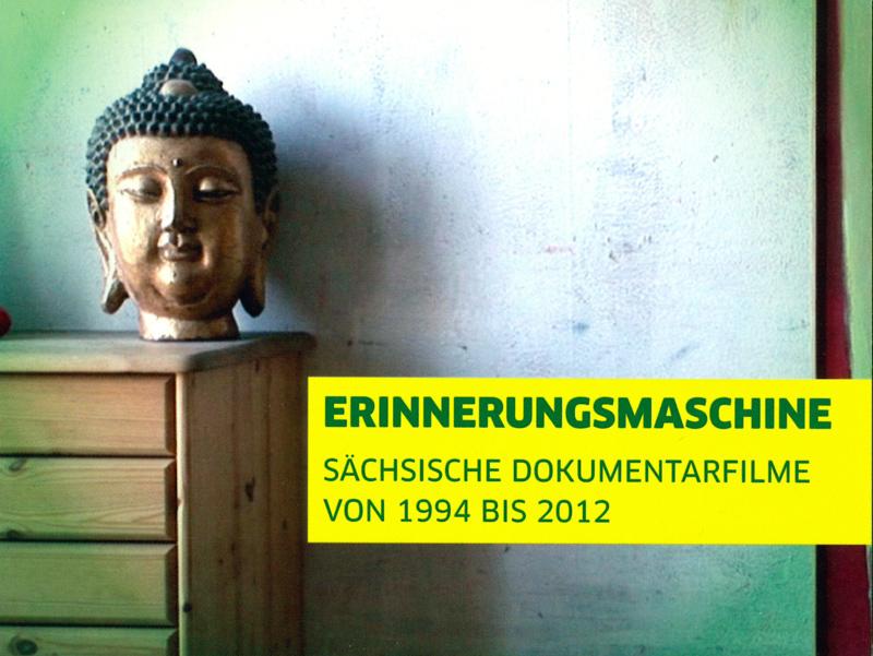 """Cover der DVD """"Erinnerungsmaschine – Sächsische Dokumentarfilme von 1994 bis 2012"""""""