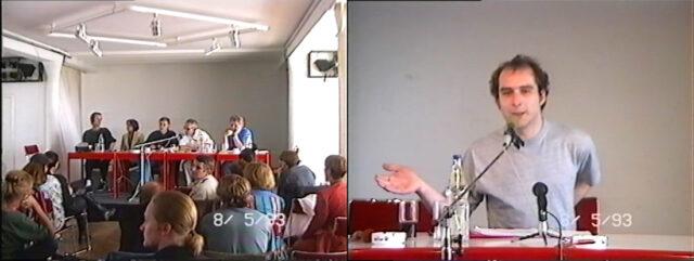 1. Internationales Symposium zum deutschen Animationsfilm 1993 in Dresden